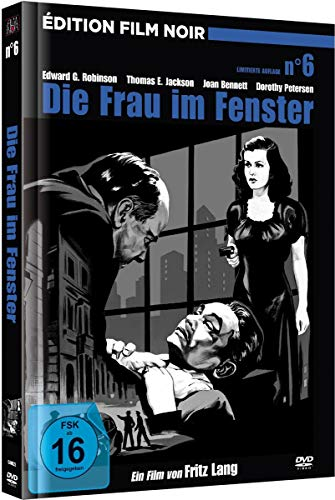 Die Frau im Fenster - Film Noir Edition Nr. 6 (Limited Mediabook inkl. Booklet, digital remastered)