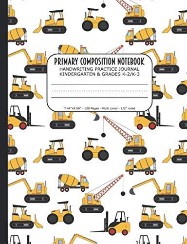 Primary Composition Notebook   Handwriting Practice Journal Kindergarten & Grades K-2/K-3: Handwriti