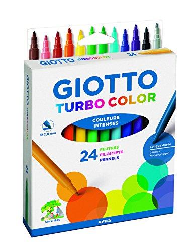 Giotto 072400Turbo Color pennarelli, Vari