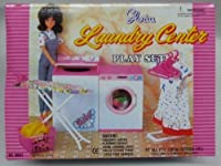 Gloria laundry center/Gloria Laundry Room for Dolls and Dollhouse Furniture.
