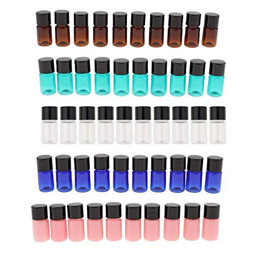 Backbayia Bouteilles en Plastique Vides Flacon de Parfum Pompe Shampooing Lotions Atomiseur de Huile Essentielle