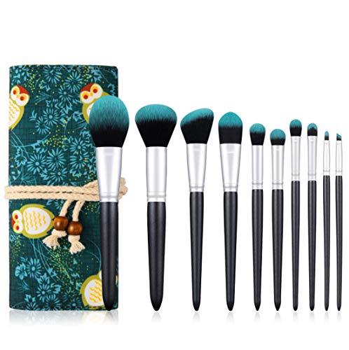 Maquillage WWGzai Pinceau de Professionnel, de Haute qualité Brosse avec Sac de Rangement Outils Brosse Beauté