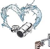 FOLENZU 720° Rotatable Faucet Sprayer Head Splash Filter Faucet Sprayer Head Bathroom, Swivel Sink Faucet Aerator Eye Wash Station Gargle Faucet Sprayer Head Suitable For 99% Kitchen Bathroom Faucet