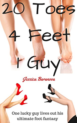 20 Toes, 4 Feet, 1 Guy: A Kinky FFM Foot Fetish Erotic Story (English Edition)