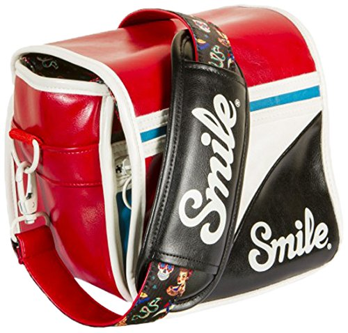 Smile Pin Up Style - Bolsa reversible para cámara réflex (