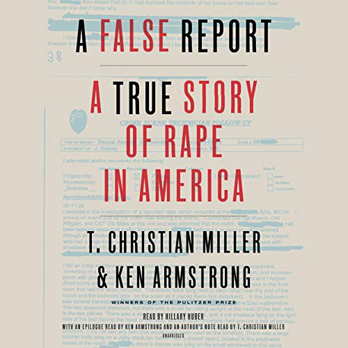 A False Report audiobook cover art