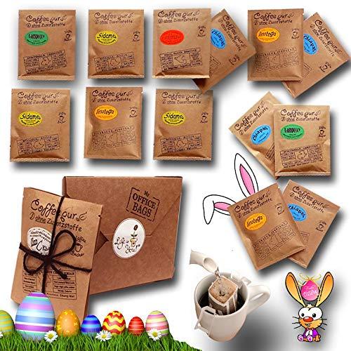 Life is You! BagBox ❤ 13 Coffee Bags (für Becher) aus 5 Fincas der Welt | frisch handgerösteter Filterkaffee zum Aufbrühen |100% Arabica, Probierset & Schönes Kaffee Geschenk aus