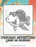 Pescado divertido - Libro de colorear 🐠