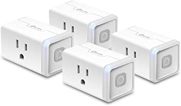 Kasa Smart HS103P4 Plug by TP-Link, Smart Home Wi-Fi Outlet Works with Alexa, Echo, Google Home & IFTTT, No Hub Required, ...
