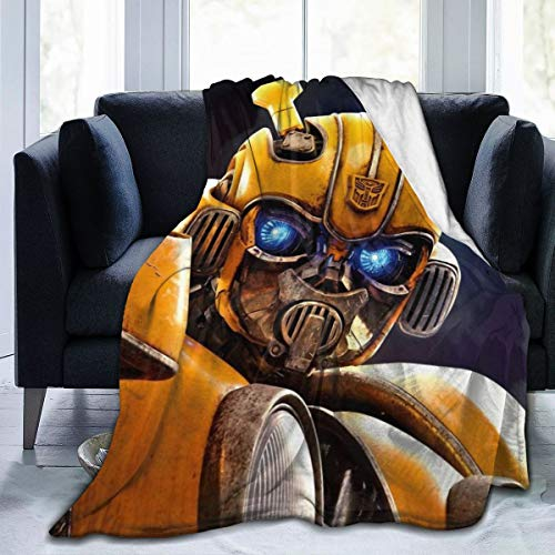 General Purpose B-umblebee Trans-Former Blanket - Twin, Soft, Warm, Insulated, Home Bed & Sofa Throw Blanket 50'x40'