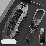 F-MINGNIAN-SPRING Funda para llave de coche, funda para llave de coche, compatible con Porsche Key Cover 718 Cayenne Macan de gama alta Palamela 911 D (color: B)