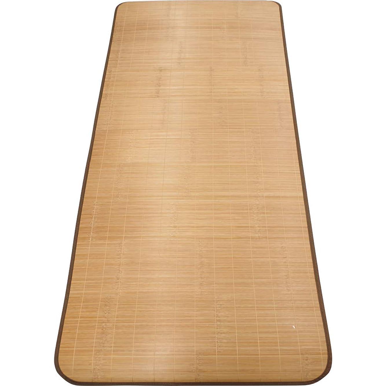 発掘セイはさておきじゃがいもアーリエ(Arie) フラットシーツ ブラウン 80×180cm 快適 天然竹使用 ごろ寝シート ひんやり冷感シーツ