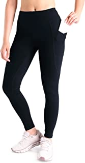 Yogipace, Petite/Regular/Tall, Women's Hiking Leggings Compression Long Leggings Base Layer Running Cycling Tights with Si...