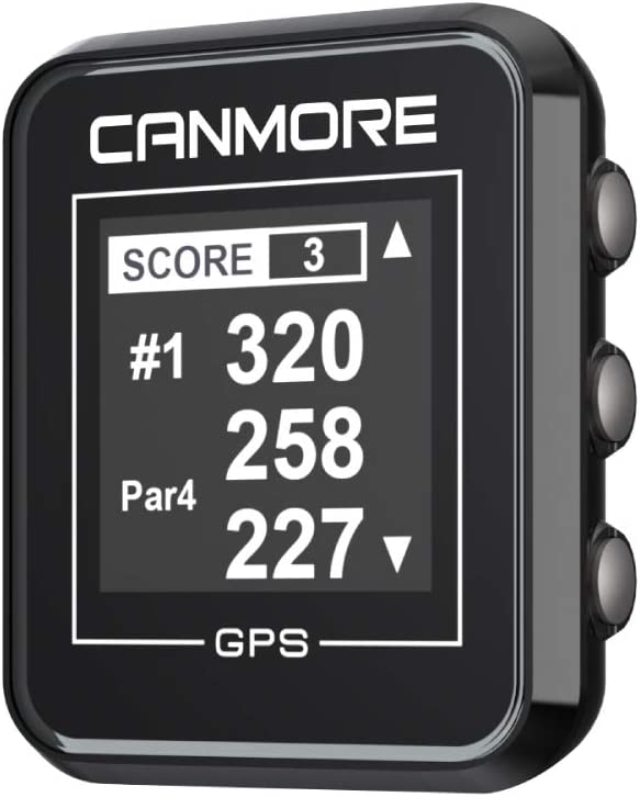 CANMORE H-300 Handheld Golf Max 49% OFF GPS Essential Challenge the lowest price of Japan and Course Data -