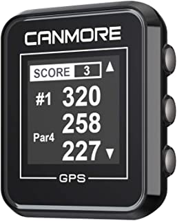 $89 » CANMORE H-300 Handheld Golf GPS - Essential Golf Course Data and Score Sheet - Minimalist & User Friendly - 38,000+ Free C...