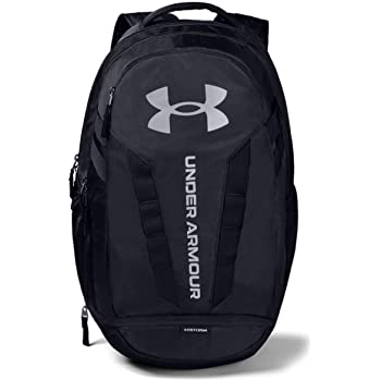 beneficio Están deprimidos gritar  Amazon.com: Under Armour Team Hustle 3.0 Backpack, Black//Silver, One Size  Fits All: Clothing