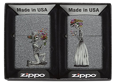 Zippo Lighter, Metal, Grey, One Size