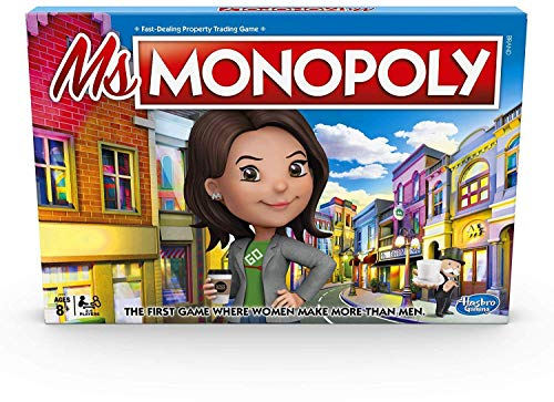 Monopoly MsMonopoly Board Game for Ages 8 amp Up