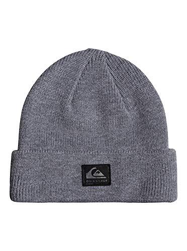 Quiksilver Herren Mütze Mit Umschlag Performer - Mütze mit Umschlag, Medium Grey Wash, 1SZ, AQYHA04652