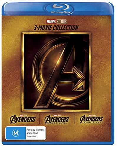 Avengers 3 Film Collection (Avengers/Avengers: Age of Ultron/Avengers: Infinity War)