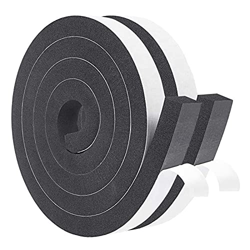 YXQ Foam Weather Stripping Tape 1'' W L Bombing free shipping X specialty shop Wi 4'' 3 13ft T