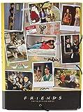 ERIK - Cartellina rigida con elastico Friends Serie TV, cartone, 24x34 cm, ideale come cartellina portadocumenti A4