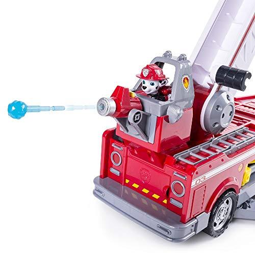 Paw Patrol, Mega Camion dei Pompieri di Marshall, con Scala Allungabile, dai 3 Anni - 6043989
