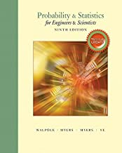 Probability & Statistics for Engineers & Scientists, MyLab Statistics Update with MyLab Statistics plus Pearson eText -- Access Card Package (9th Edition)