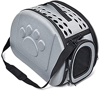 MAOSHE Pet Bag, Pet Carrier Fashion Breathable Bag for Dogs Travel Carrying Cat Dog Puppy Comfort Travel Outdoor Shoulder ...