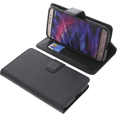 foto-kontor Tasche für MEDION Life P5006 Book Style schwarz Schutz Hülle Buch