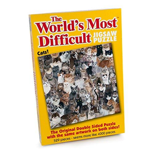 Paul Lamond Puzzel 15.227,3 cm The World 's moeilijkste puzzels/katten (529-stuks)