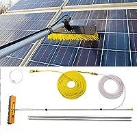 YNWUJIN 屋外清掃ツールキャラバン洗濯、トラック、キャンピングカー、バス。洗車。水ブラシ。太陽光発電および太陽電池パネル、4.5-9M、水供給伸縮式ブラシ屋根にも適しています,9M / 29.5フィート