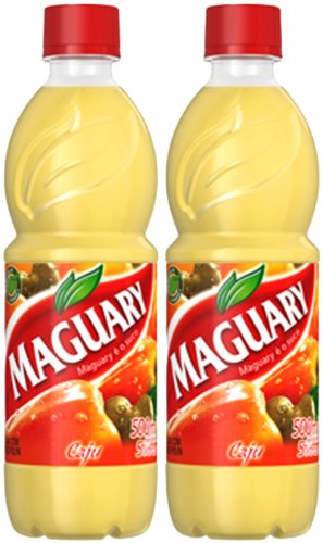 Maguary Cashew Juice Concentrate - 16.9 FL.Oz | Suco Concentrado Maguary Sabor Caju - 500ml - (PACK OF 02)