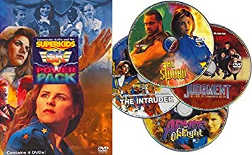 Commander Kellies And The Superkids SK Power Pack (4 DVD Set)
