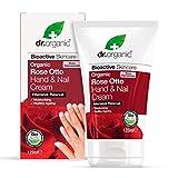Dr. Organic Crema De Manos Y Uñas Rosa De Damasco 125Ml. 1 Unidad 300 g