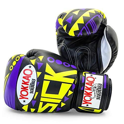 Yokkao Sick Designer Muay Thai Boxing Gloves Breathable Leather (14oz)