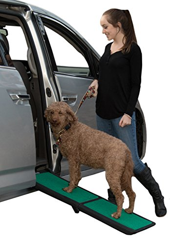 Pet Gear Travel Lite Ramp with supertraX Surface for Maximum Traction, 4 Models to Choose from, 42-71 in. Long, Supports 150-200 lbs, Find The Best...