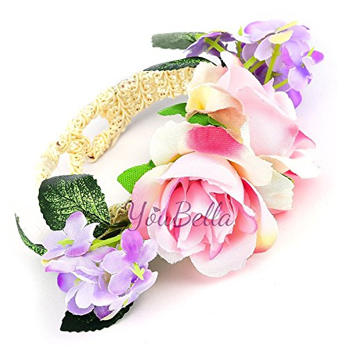 youbella bisutería elegante última Fancy de para fiesta/boda desgaste occidental Floral pulsera para las niñas y las mujeres