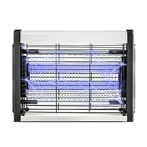 DANGZW Lampada Antizanzare Elettrico,4W Zanzariera Elettrica con Luce UV per Interno Esterno Cucina,Soggiorno, Terrazza, Giardinoper Uso Domestico