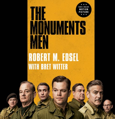 The Monuments Men audiobook cover art