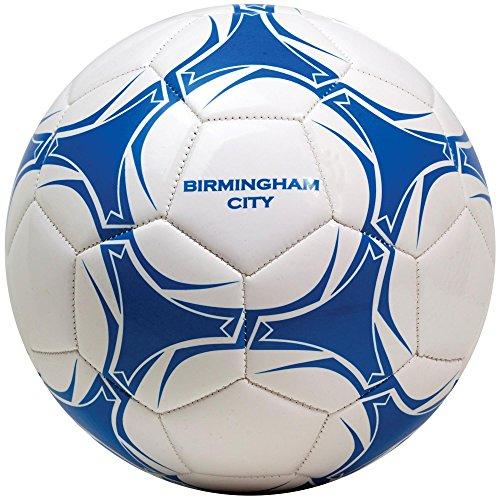 Birmingham City Size 5 Football - White/Blue