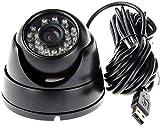 Wishbone Home Security Camera USB Security Camera USB CCTV, DVR with Memory Card