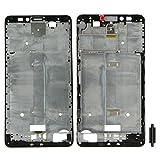 破損した部品に交換可能 Huawei社アセンドメイト7アクセサリーについてIPartsBuyフロントハウジングLCDフレームベゼルプレート (Color : Black)