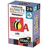 Headu- Flashcards Alfabeto Tattile e Fonetico, IT23752