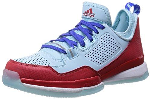 adidas D Lillard 1 Oakland Rebels Herren Basketball Sneaker Court Schuhe-Blue-51 1/3