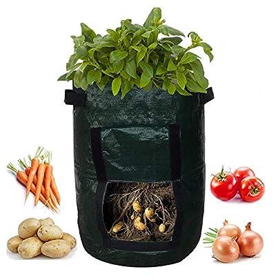 Potato Grow Bags, Garden Pot Plant Grow Bags Gr...