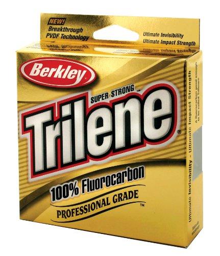 Berkley trilene tfps8 15 fluorocarbon clear cuerda, Color 149, 4-Pound