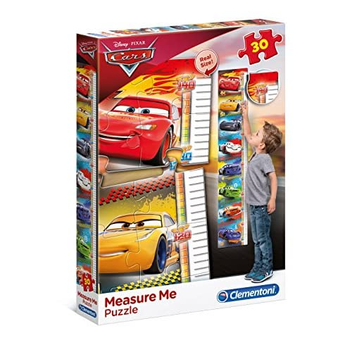 Clementoni Cars Meter Puzzle, Colore Neutro, 30 pezzi, 20324