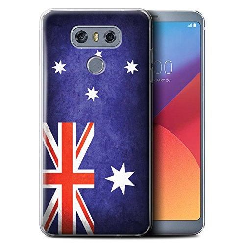 Stuff4® Gel TPU hoes/case voor LG G6/H870/LS993/VS998/Australië/Australisch patroon/vlag collectie