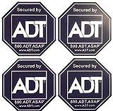 ADT 8 Sticker Decals - Double-Sided Authentic Dark Blue